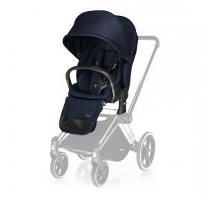 Cybex - 517000235 - Siège de luxe marine-Midnight blue pour poussette Priam (338300)