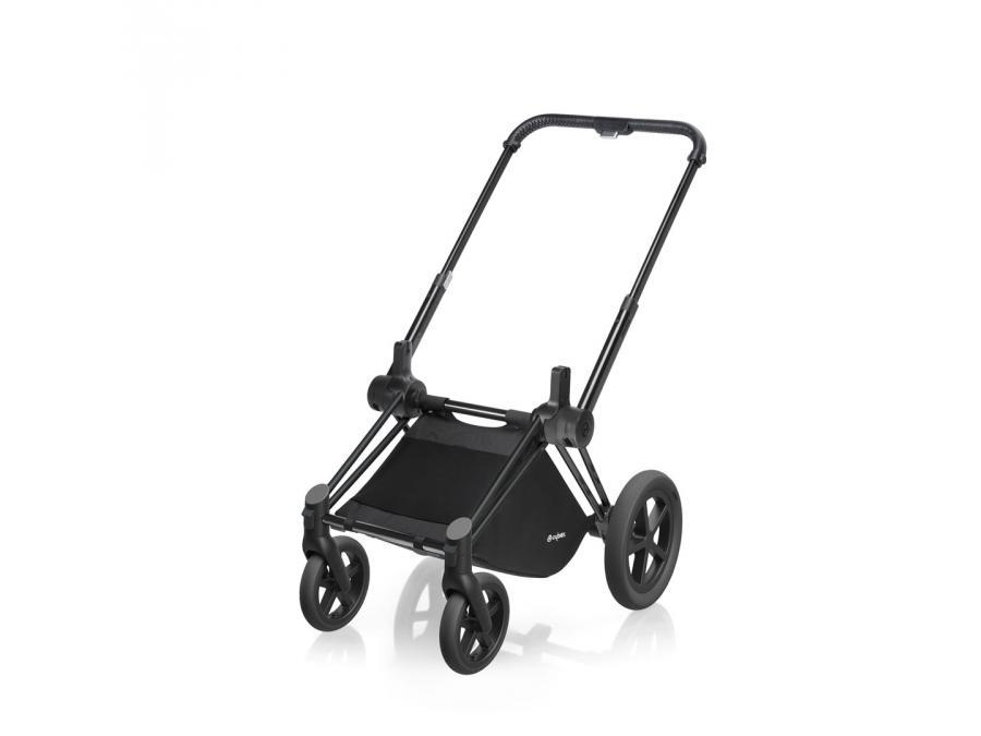 cybex ch ssis poussette priam roues tout terrain noir. Black Bedroom Furniture Sets. Home Design Ideas