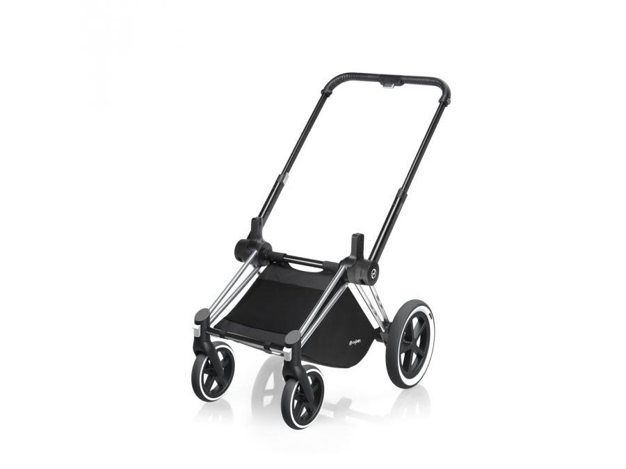 cybex ch ssis poussette priam roues tout terrain chrome. Black Bedroom Furniture Sets. Home Design Ideas