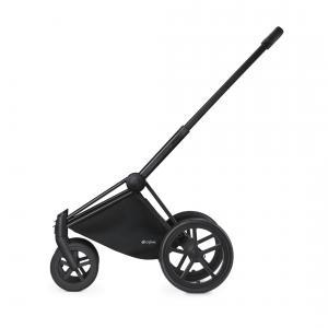 Cybex - 516212019 - Châssis poussette Priam, roues ville et campagne (trekking) noir (338326)