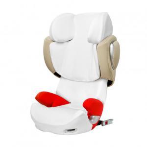 Cybex - 514409003 - Housse d'été blanc pour siège auto SOLUTION Z-fix (338406)