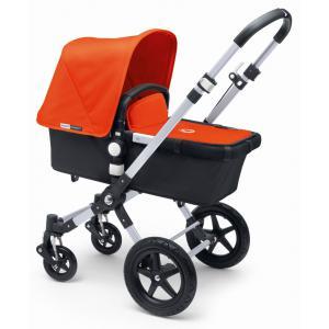 Bugaboo - BU015 - Poussette Cameleon³ châssis ALU base NOIR habillage orange (338922)