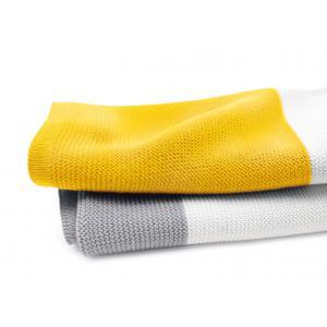 Bugaboo - 80152BY01 - Bugaboo couverture légère en cotton JAUNE VIF multi (80x100cm) (338996)