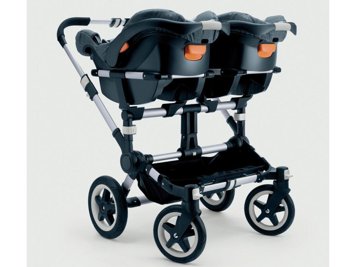 bugaboo adaptateur jumeaux si ge auto britax r mer pour poussette donkey. Black Bedroom Furniture Sets. Home Design Ideas