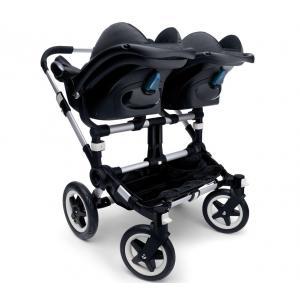 Bugaboo - 855180MC02 - Poussette Donkey adaptateur siège-auto Maxi Cosi® - jumeaux (339032)
