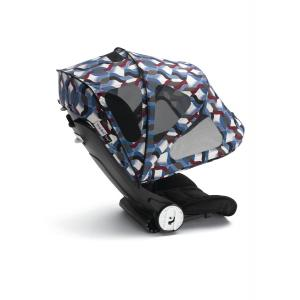 Bugaboo - 80620FB01 - Bugaboo Bee5 capote à fenêtres Waves (339380)