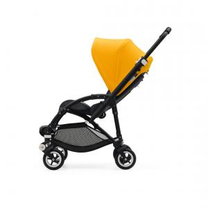 Bugaboo - 500300GS01 - Bugaboo Bee5 complète chassis NOIR Jaune Solaire (339452)
