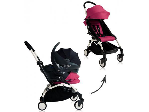 Babyzen yoyo plus habillages 0+ et 6+ rose et siege auto noir e5486726a7c