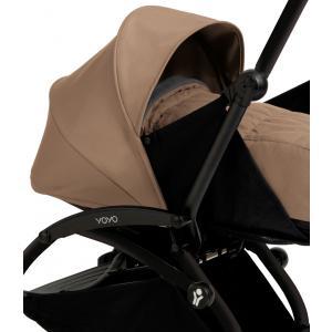 Babyzen - BU030 - Poussette Yoyo+ complète cadre  noir habillages 0+ et 6+ taupe (339522)