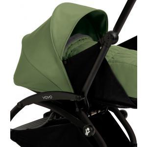 Babyzen - BU031 - Poussette Yoyo+ complète cadre  noir habillages 0+ et 6+ peppermint (339524)