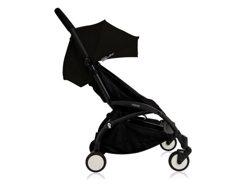 nouvelle poussette babyzen yoyo plus compl te cadre noir habillages 0 et 6 noir. Black Bedroom Furniture Sets. Home Design Ideas