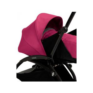 Babyzen - BU026 - Poussette Yoyo+ complète cadre  noir habillages 0+ et 6+ rose (339534)