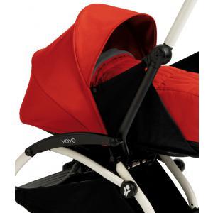 Babyzen - BU020 - Poussette Yoyo+ complète cadre  blanc habillages 0+ et 6+ rouge (339542)