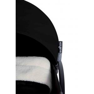 Babyzen - BU021 - Poussette Yoyo+ complète cadre  blanc habillages 0+ et 6+ noir (339544)