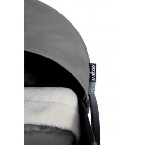 Babyzen - BU019 - Poussette Yoyo+ complète cadre  blanc habillages 0+ et 6+ gris (339546)