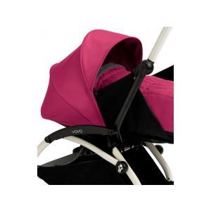 Babyzen - BU018 - Poussette Yoyo+ complète cadre  blanc habillages 0+ et 6+ rose (339548)
