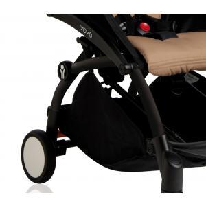 Babyzen - BU014 - Poussette Yoyo+ cadre noir pack couleur 6+ taupe (339556)