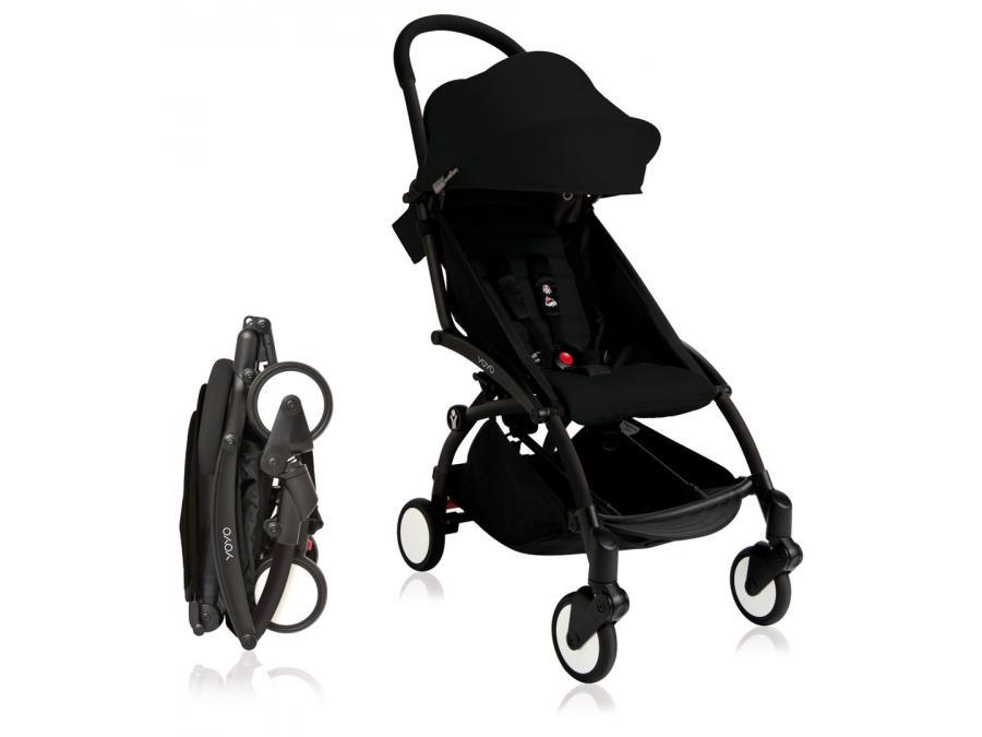 nouvelle poussette babyzen yoyo plus cadre noir pack couleur 6 noir. Black Bedroom Furniture Sets. Home Design Ideas