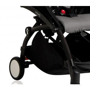 Babyzen - BU011 - Poussette Yoyo+ cadre noir pack couleur 6+ gris (339560)