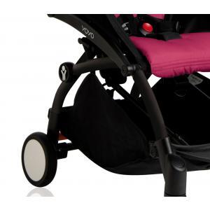 Babyzen - BU010 - Nouvelle poussette Babyzen Yoyo plus cadre noir pack couleur 6+ rose (339564)