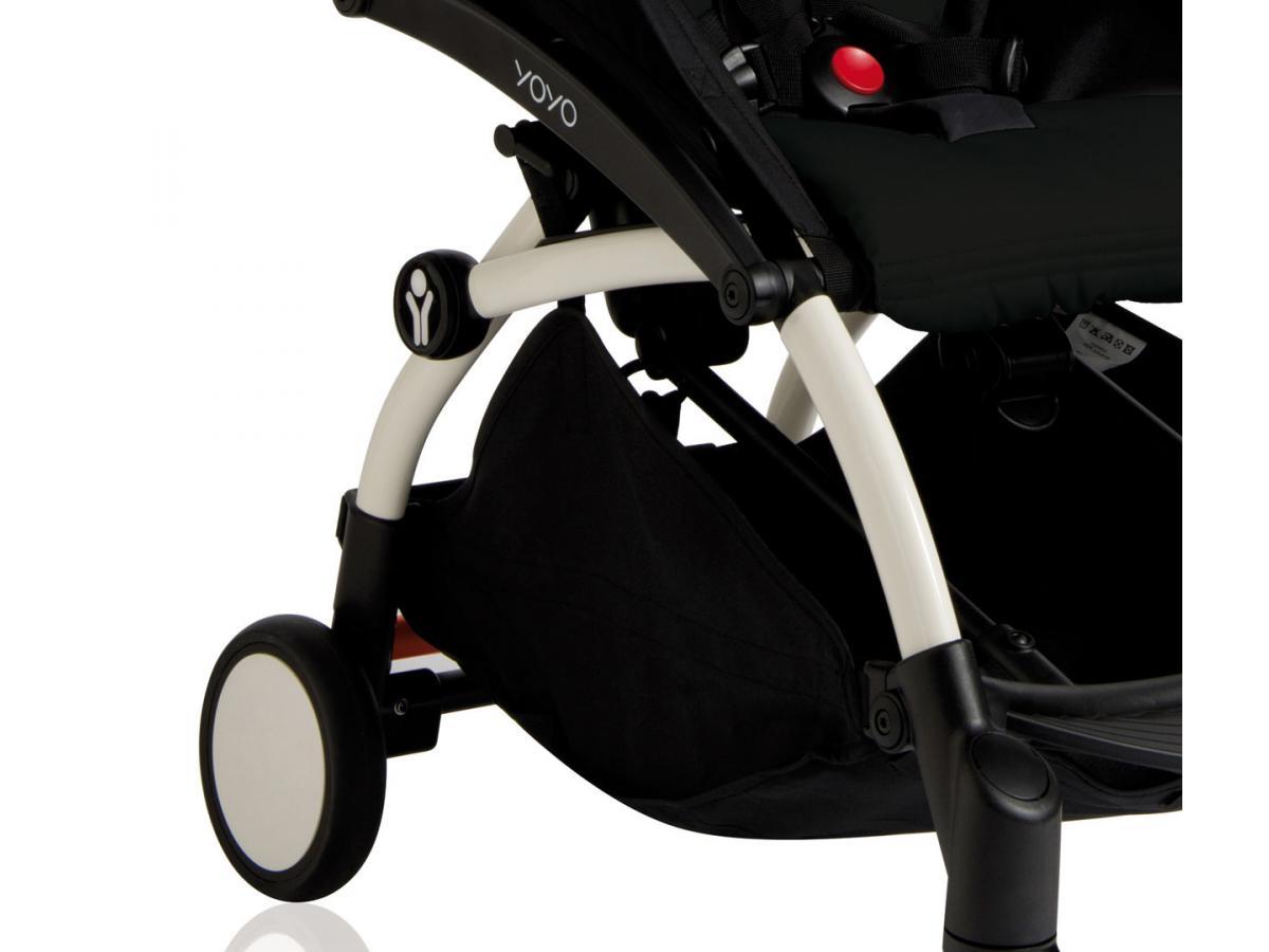 nouvelle poussette babyzen yoyo plus cadre blanc pack couleur 6 noir. Black Bedroom Furniture Sets. Home Design Ideas