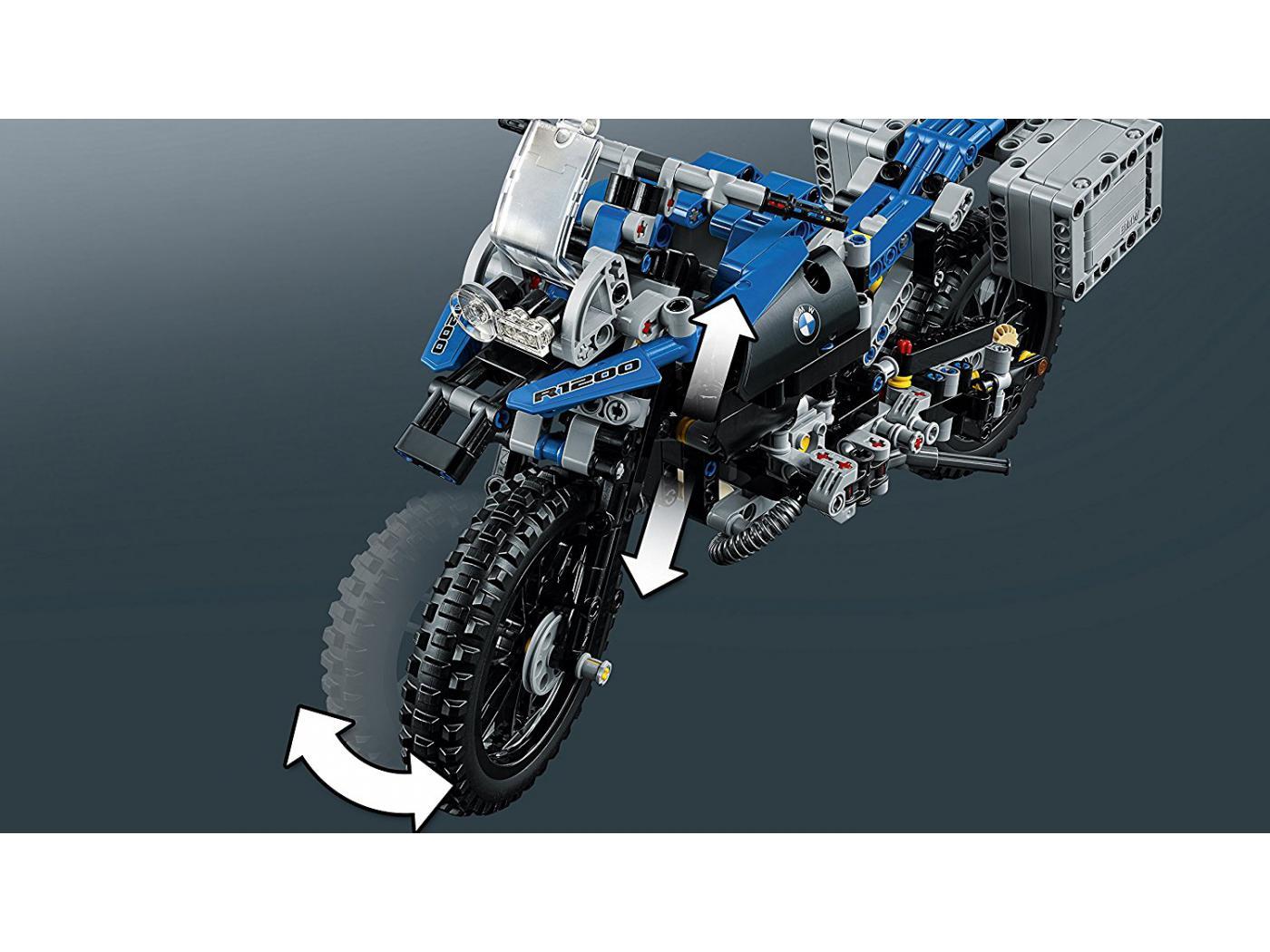 1 nouveaux LEGO-TECHNIQUE DE RECETTE//Instruction BMW R 1200 GS Adventure 42063