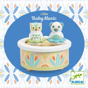 Djeco - DJ06110 - Baby blanc -  BabyMusic * (340356)