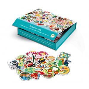 Djeco - DJ05969 - Boîte Stickers à offrir (340694)