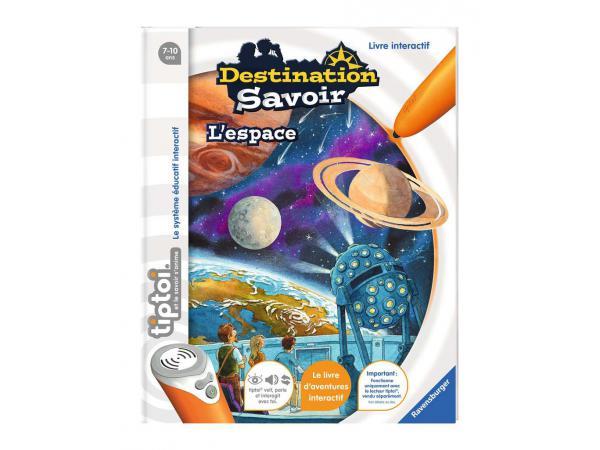 Jeux éducatifs tiptoi - destination savoir - l'espace