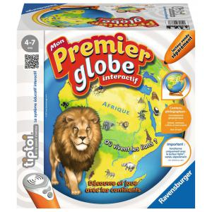 Ravensburger - 00783 - Jeux éducatifs Tiptoi - Mon Premier Globe interactif (341250)
