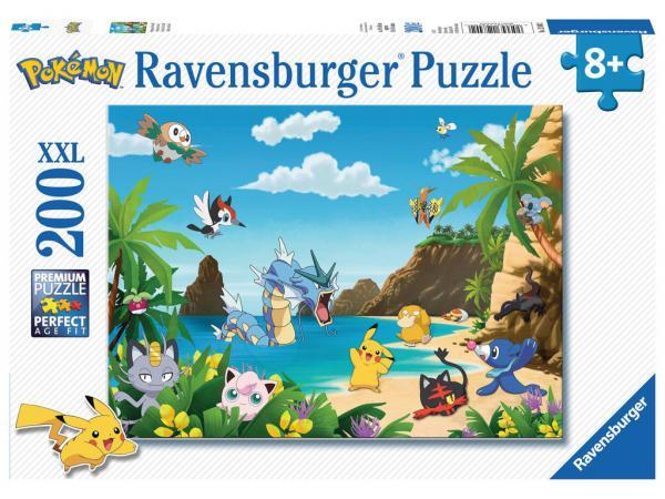 Puzzle 200 pièces xxl - attrapez-les tous ! / pokémon
