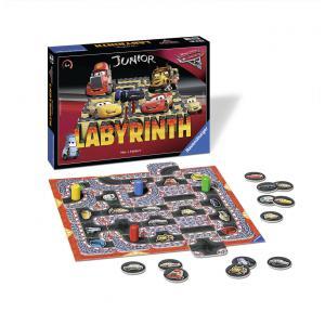 Ravensburger - 21273 - Jeu de société enfants  - Jeu de réflexion - Labyrinthe Junior Cars 3 (341650)