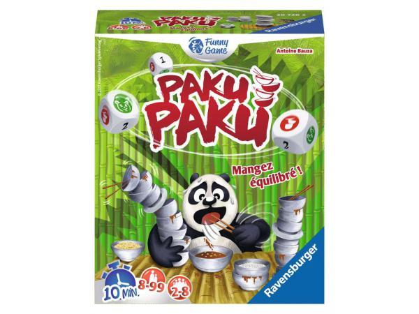 Jeux de société famille - jeux d'ambiance -paku paku
