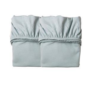 Leander - 501892 - Lot de 2 draps housse, Bleu Pale pour berceau suspendu Leander (341798)