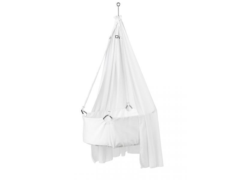 leander voile pour berceau suspendu leander blanc. Black Bedroom Furniture Sets. Home Design Ideas