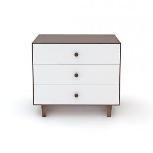 Oeuf NYC  - BU010 - Commode Merlin 3 tiroirs base RHEA noyer (341854)
