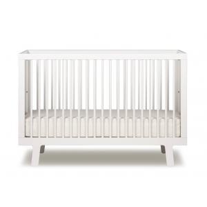 Oeuf NYC  - 7SPCR01-EU - Lit bébé à barreaux Sparrow Blanc (341878)