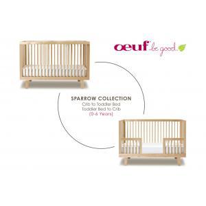 Oeuf NYC  - 4SPCK04-EU - Kit de conversion pour lit bébé Sparrow en bouleau naturel (341882)