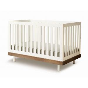 Oeuf NYC  - 2CR002-EU - Lit bébé à barreaux Classic noyer (341906)