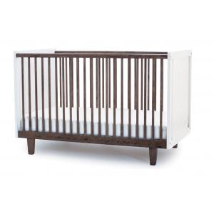 Oeuf NYC  - 1RH02-EU - Lit bébé à barreaux Rhea en noyer (341940)