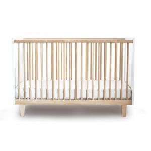 Oeuf NYC  - 1RH01-EU - Lit bébé à barreaux Rhea Naturel (341942)