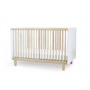 Oeuf NYC  - 1RH01-EU - Lit bébé à barreaux Rhea en bouleau naturel (341942)