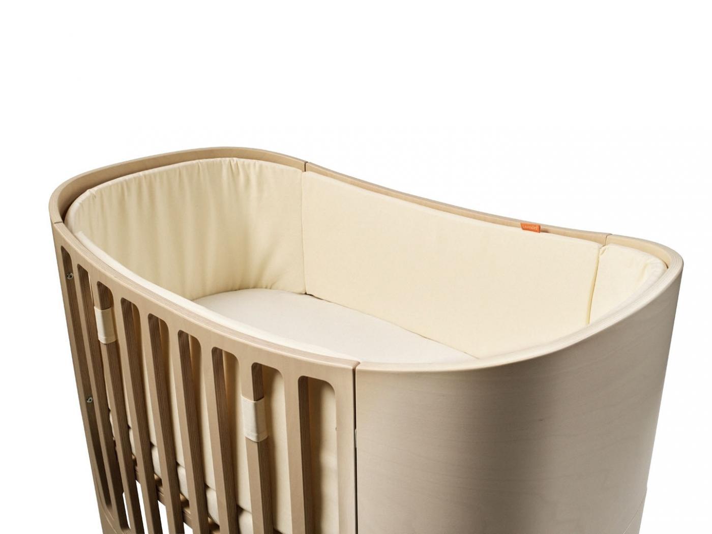 leander tour de lit vanille pour lit b b volutif. Black Bedroom Furniture Sets. Home Design Ideas