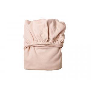Leander - 501694 - Draps Housse bébé, Rose pâle pour lit bébé évolutif (342074)