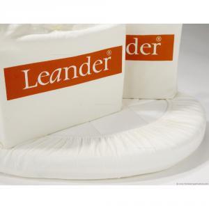 Leander - 500796 - Lot 2 draps housse Junior Blanc pour lit bébé évolutif (342080)