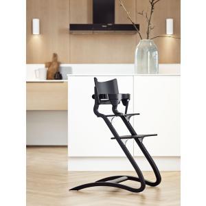 Leander - 300000-02 - Chaise haute noir (342090)