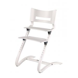 Leander - 300000-03 - Chaise haute évolutive Blanc Satiné (342092)