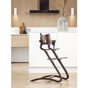 Leander - 300000-07 - Chaise haute noyer (342094)