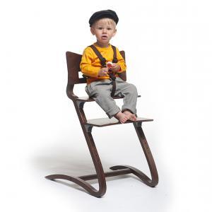 Leander - 500871 - Harnais de sécurité marron pour chaise haute (342120)
