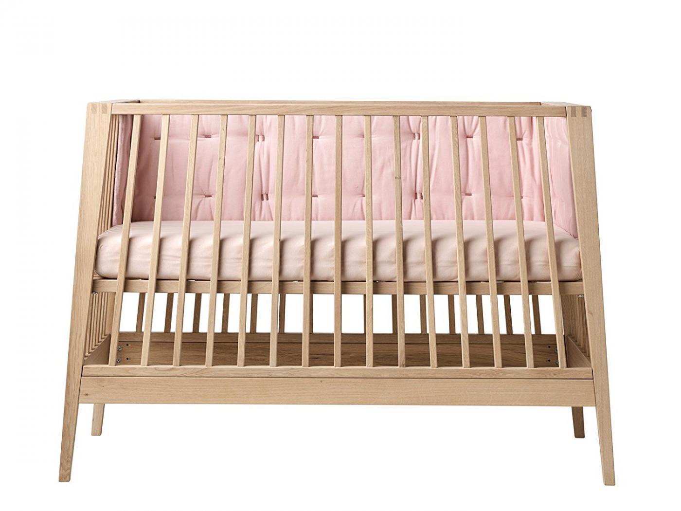 leander tour de lit rose p le pour lit b b linea. Black Bedroom Furniture Sets. Home Design Ideas